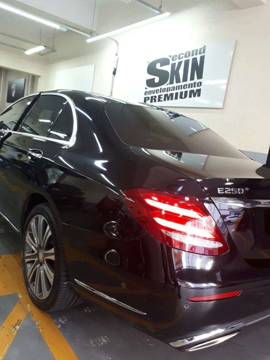 Envelopamento M3 com Paint Protection Film