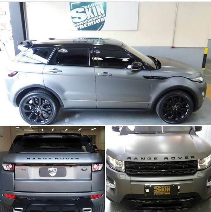 Land Rover Evoque Kit Teto / Colunas / Aerofolio com Oracal 970 Black Piano Premium