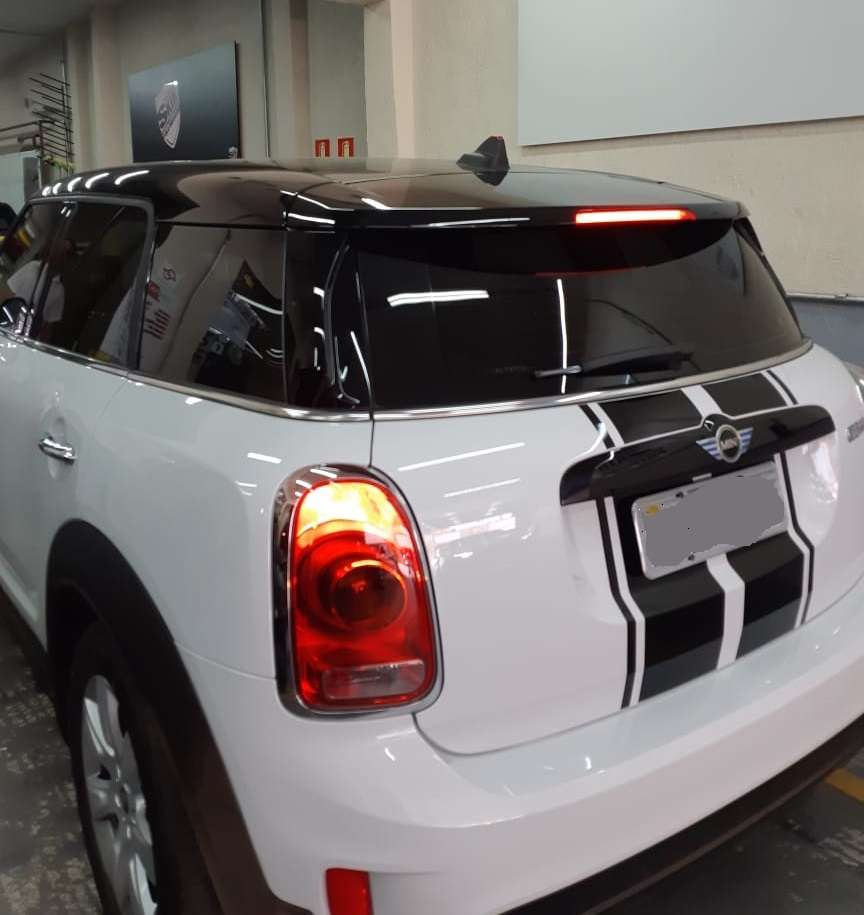 Mini Cooper Kit Teto / Colunas / Aerofolio com Oracal 970 Black Piano Premium