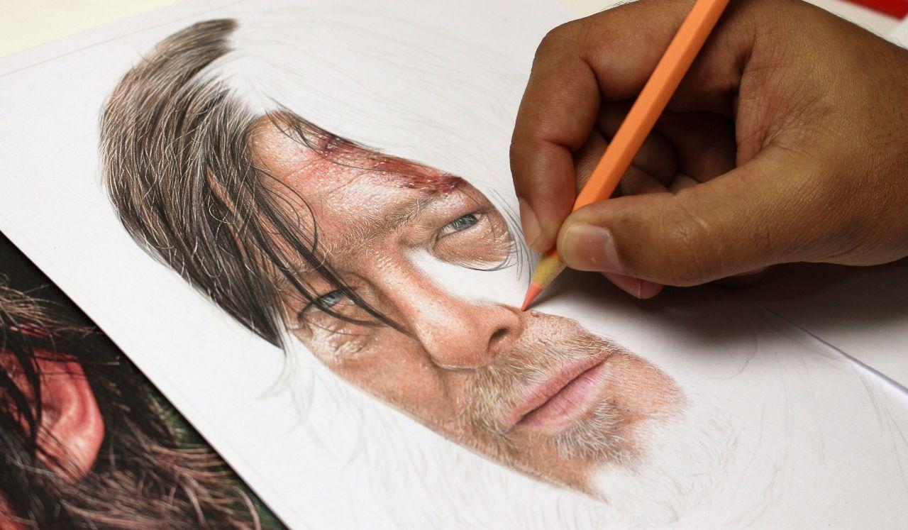 Metodo Desenhos Realistas Coloridos