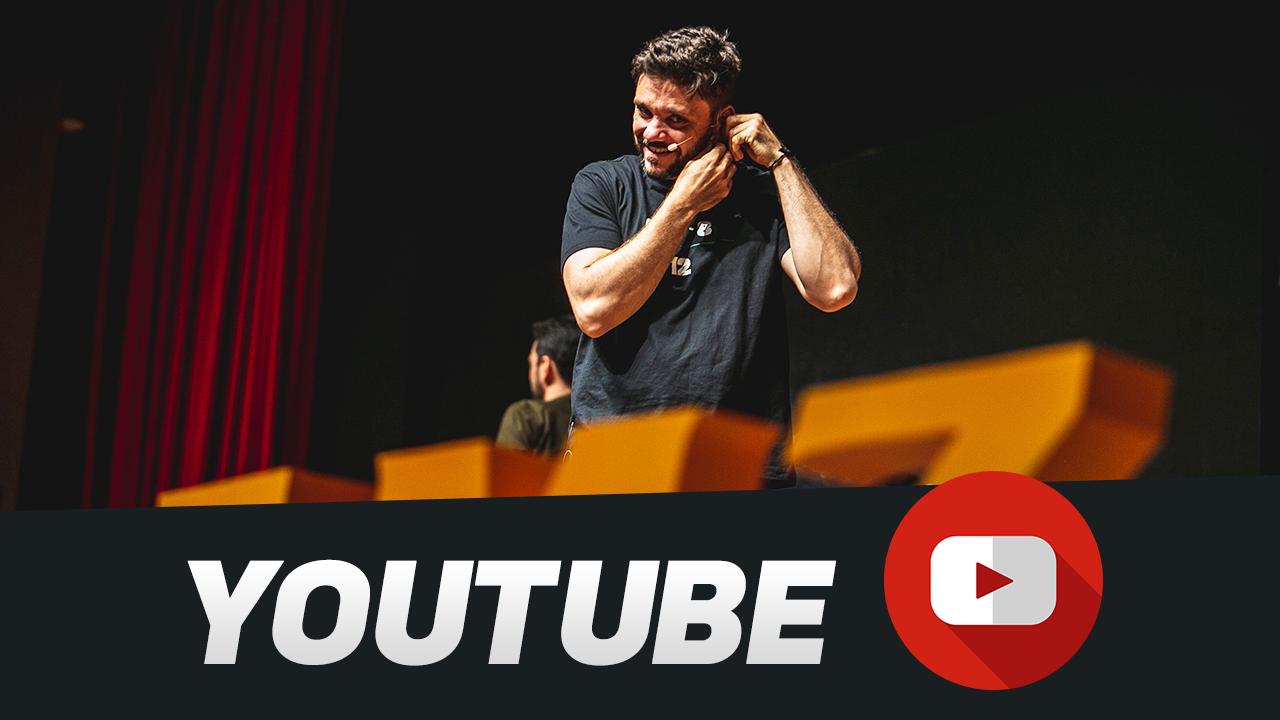 No canal do YouTube, eu compartilho técnicas de vendas, estratégias e sacadas para empreendedores e espirantes a empreendedores.