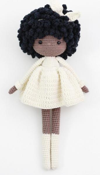 Artes em Crochê: Boneca JUJU | 599x343