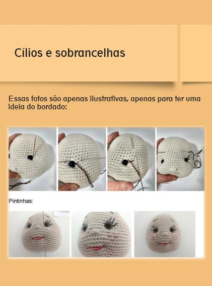Peppa Pig's brother George Plushie - free pattern | Brinquedos de ... | 568x421
