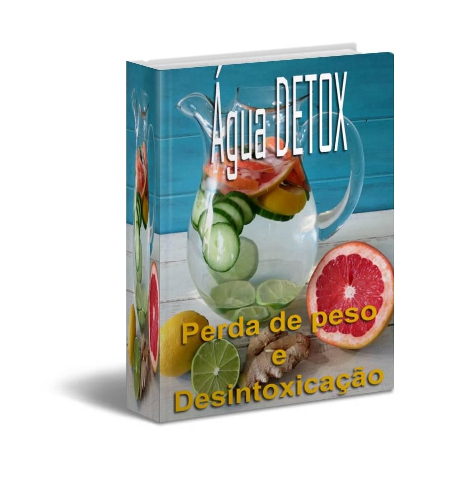 Água detox capa do livro