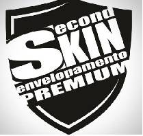 Logo Second Skin Envelopamento Premium