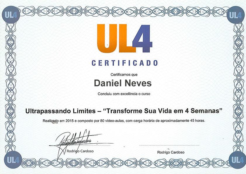 certificado UL4