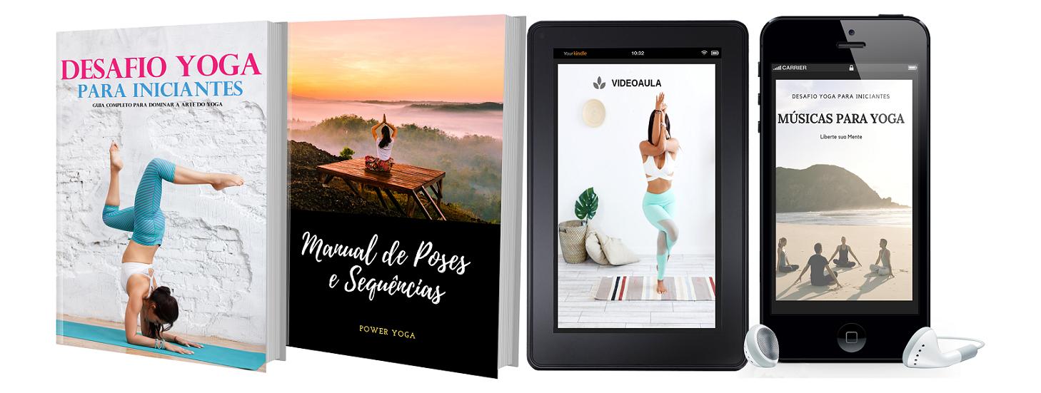 Desafio Yoga para Iniciantes - E-book Completo para Praticar Yoga em Casa